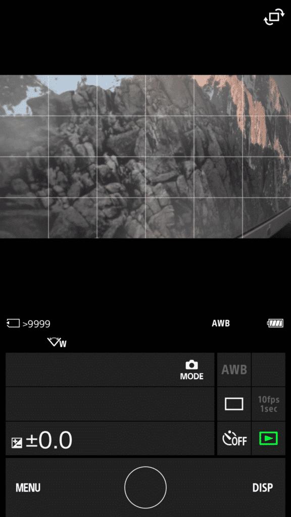 camera-sport-sony-fdr-x3000-application