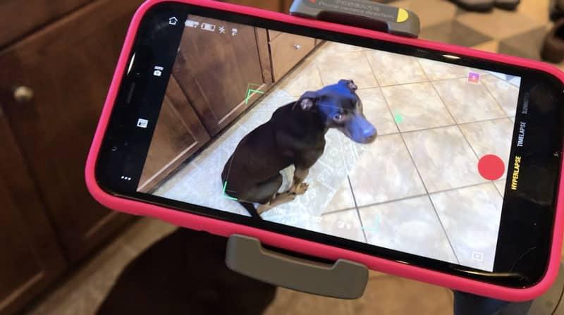 vue stabilisateur iphone
